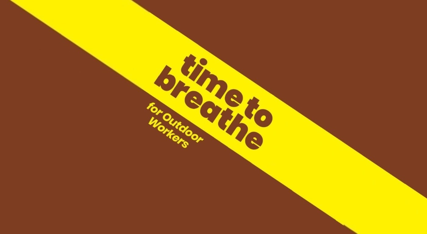 Page 1. Time to breathe logo